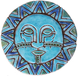 Circular Tile Sun&Moon - #5 - Large