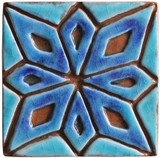 Handmade tiles for kitchens, bathrooms and outdoor wall art.  Decorative tiles handmade in Spain.