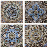 The beauty of handmade tiles