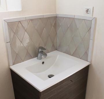 Handmade tiles bathroom Moroccan arch #2