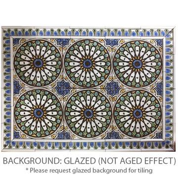 These handmade tiles make wonderful kitchen and bathroom tiles.  Decorative tile handmade in Spain.