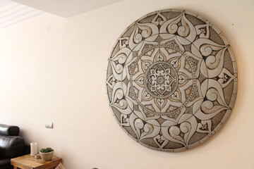 Our ceramic murals make unique wall art for your garden or patio walls. Our tiles are handmade in Spain.