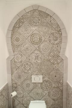 Handmade tiles bathroom #3
