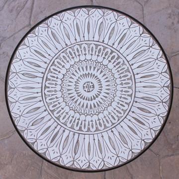 Handmade tile mosaic tabletop 4