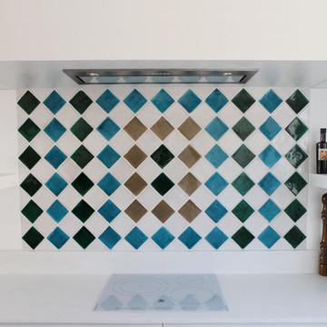 Handmade tiles square [7cm]