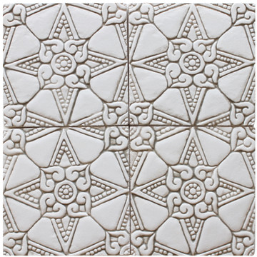 decorative tile - amara - beige [15cm]