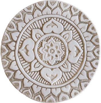 Mandala wall art - deco - beige [21cm]