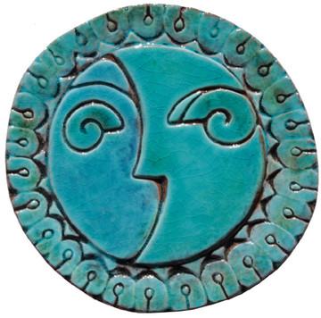 Circular Tile Sun&Moon - #3 - Small