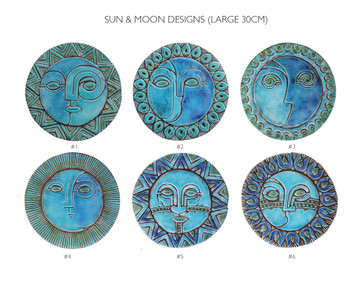 Circular Tile Sun&Moon - 6 Large Designs