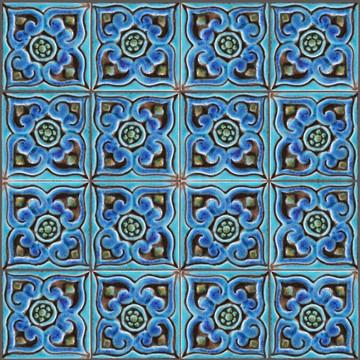 Mandala taco Pillar Tiles