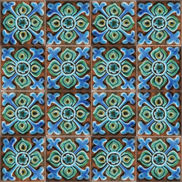 Suzani taco Pillar Tiles