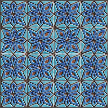 Moroccan Taco Pillar Tiles