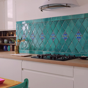 Handmade tiles diamond [11x19cm]