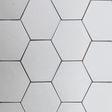 Handmade tiles hexagon [15x22cm]