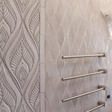 Handmade tiles hourglass [8x20cm]