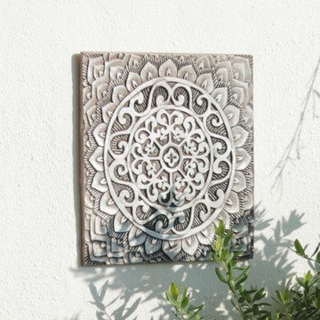 "Handmade Tiles Set12 silver [30cm/11.8""]"