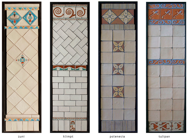 Handmade tile compositions #15