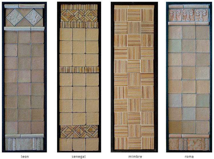 Handmade tile compositions #17