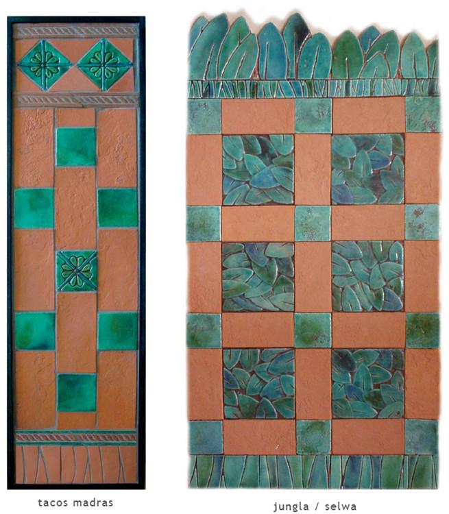 Handmade tile compositions #19