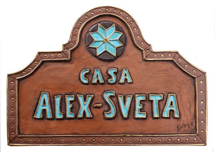 Personalized house sign #22