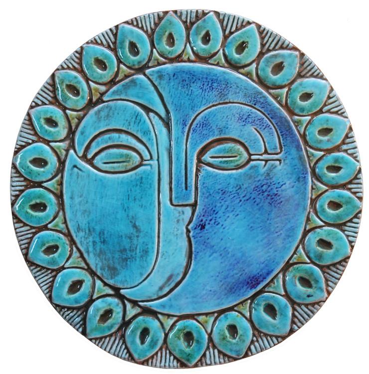 Circular Tile Sun&Moon - #2 - Large
