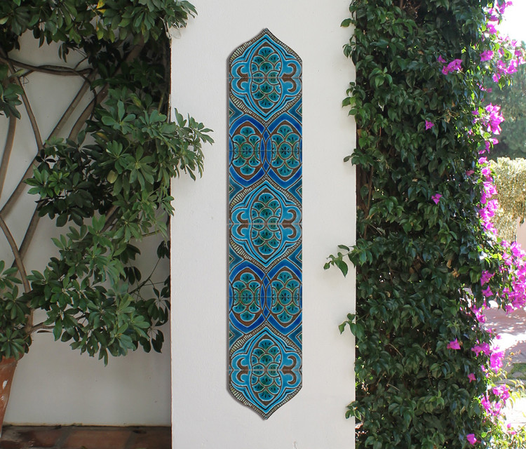 pillar sets context Moroccan deco 15cm