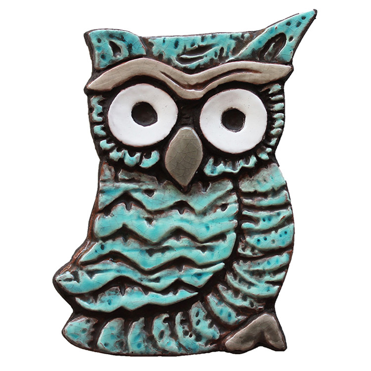 Wall Art Owlet - Small - Jade