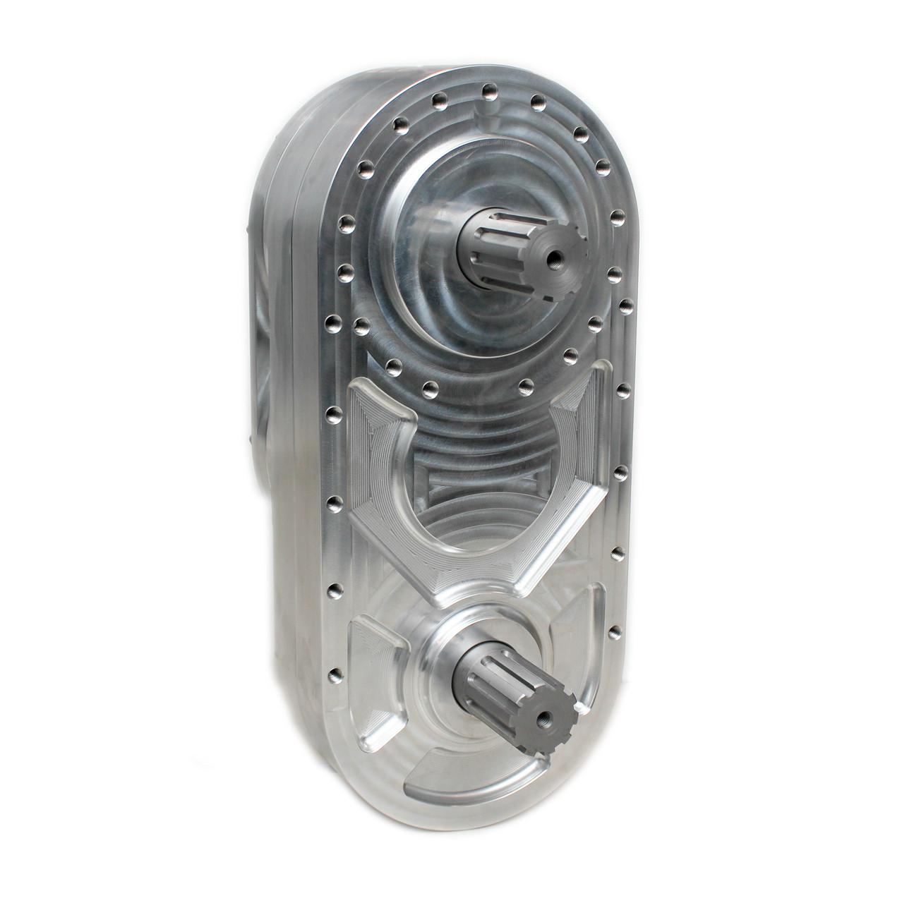 "sniper 10"" billet transfer case gearbox fti performance"