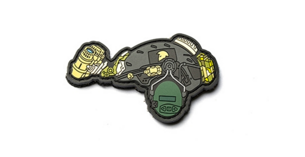 Griffon Industries 2018 Limited Edition Helmet PVC Patch