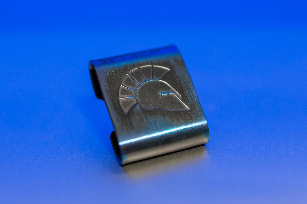 Steelflame x Griffon Niobium Molle clip