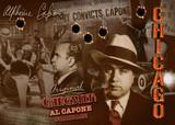 Chicago OG Capone Postcard 5x7