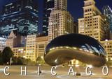 Chicago 'The Bean' Postcard 5x7