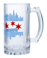Chicago Double Skyline Beer Stein
