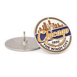 Chicago Medallion Pin