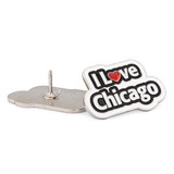 I Love Chicago Pin