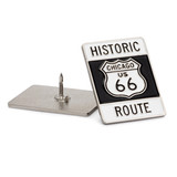 Chicago Route 66 Sign Pin