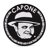 Capone Quote Patch
