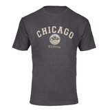 Chicago Medallion Heather Charcoal T-shirt