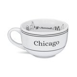 Chicago Inside Skyline Soup Mug
