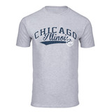 Chgo Skyline Seal T-Shirt Gry