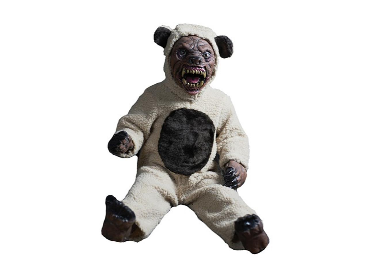 Halloween Fortune Teller Animatronic.Scary Teddy Bear Prop