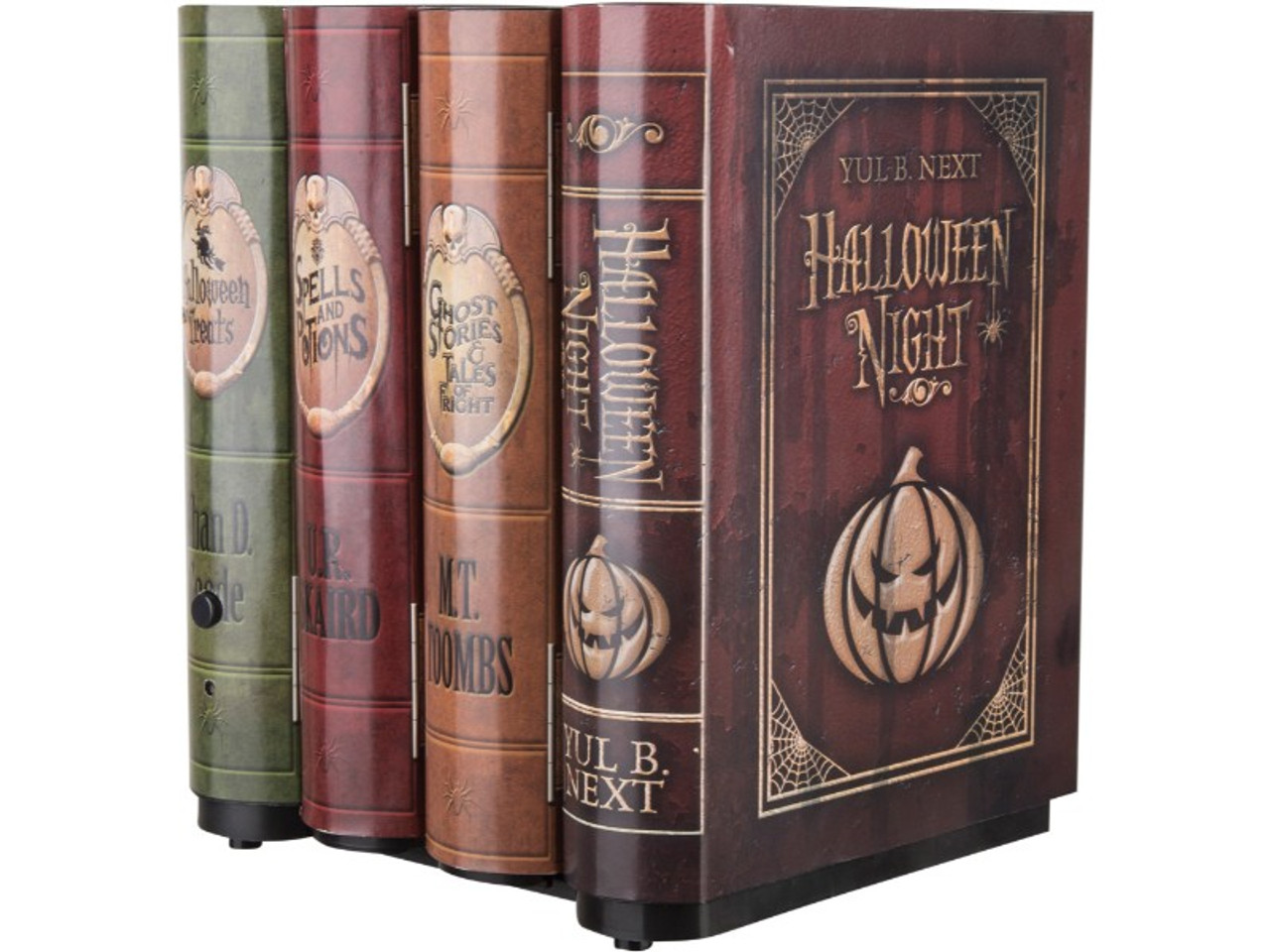 Animated Book Prop Just Tuck These Into Your Bookshelf And Watch Guests Jump When They
