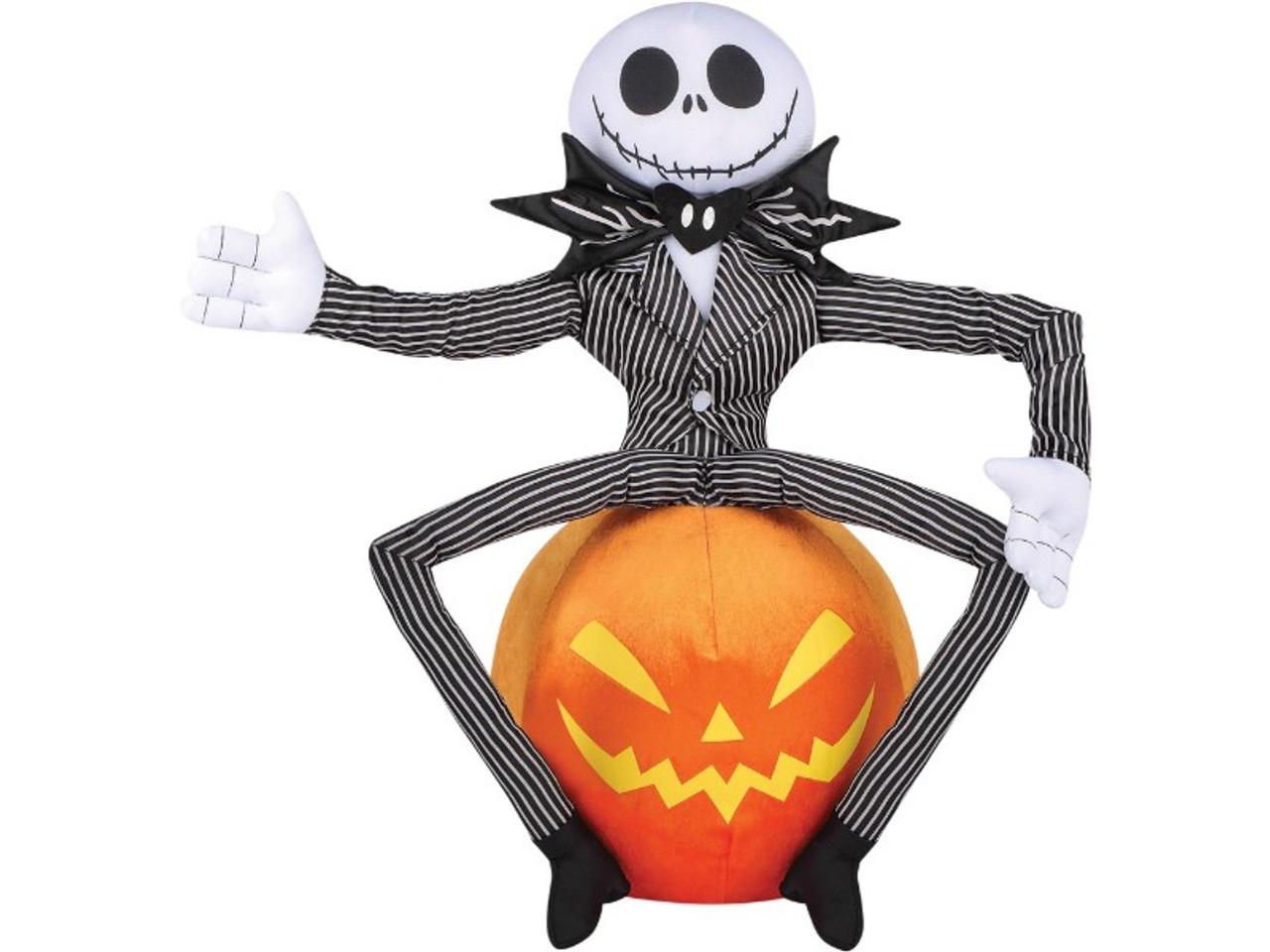 Halloween Jack Skellington Scary.Jack Skellington Plush Door Greeter