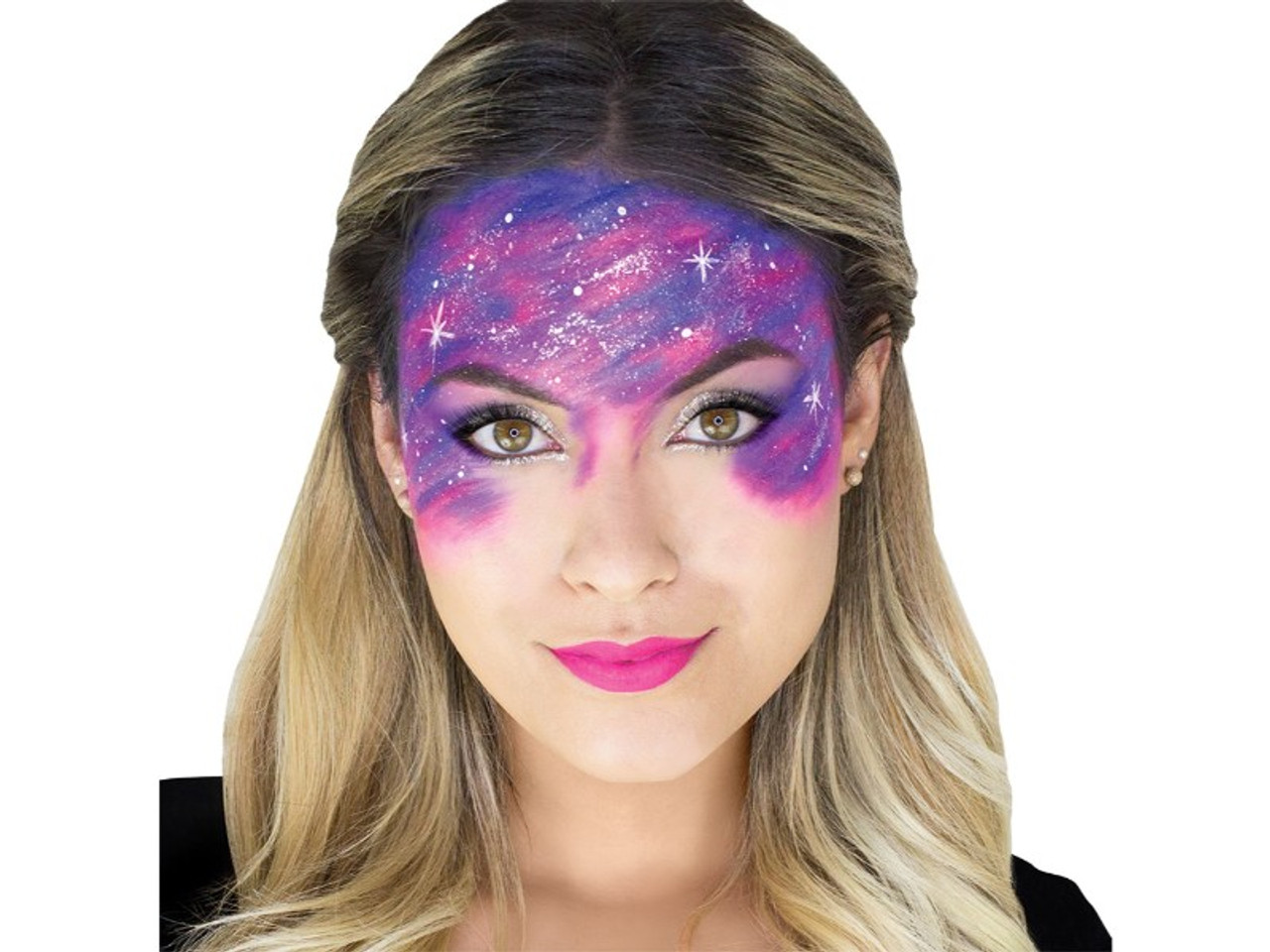 Galaxy Makeup Kit Did you know that this is a quick and easy makeup application if