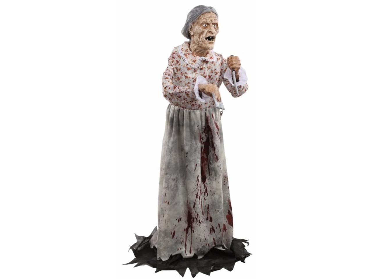 Bates Motel Props 5 Foot Lifesize Static Granny Psycho