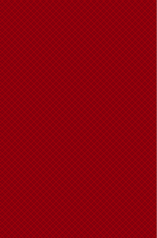Wilmington Prints- Essential Red Carpet- Daisy Eights Red on Red