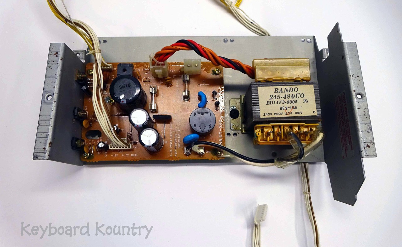 Roland D-50 Complete Power Supply Assembly (AS IS)