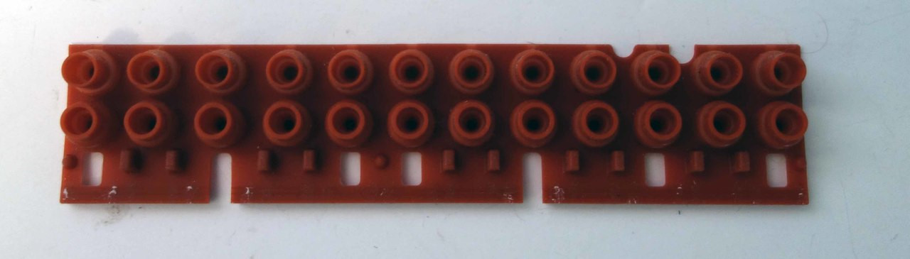 12 note Yamaha PSR-280//S910 /& Many Other PSR Rubber Key Contacts
