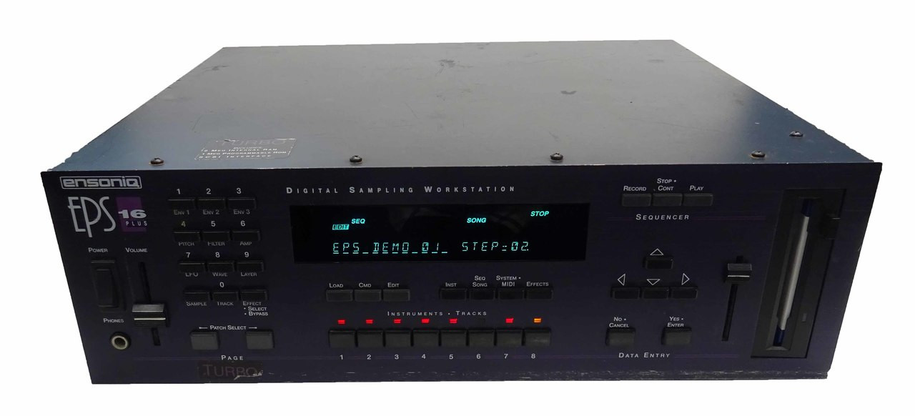 Ensoniq EPS 16 Plus Turbo Rack with SCSI and Expanded Memory