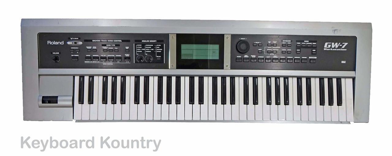 Roland gw-7 manual
